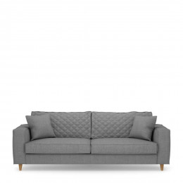 Kendall sofa 3 5 seater cotton grey