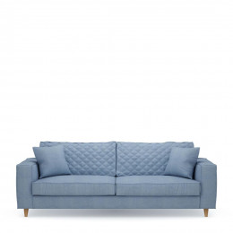 Kendall sofa 3 5s cotton iceblue