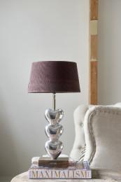 Lovely heart table lamp