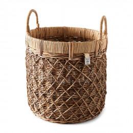 Rr diamond weave basket l