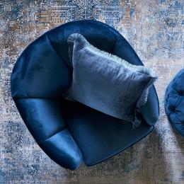 Rue royale armchair vel ocean blue