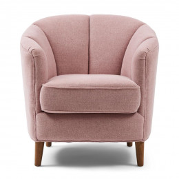 Rue royale armchair linen parispink