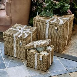 Rr present basket set of 3 pieces