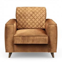 Kendall armchair velvet cognac