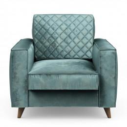 Kendall armchair velv minblue