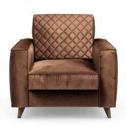 Kendall armchair velvet chocolate