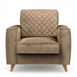 Kendall armchair velvet glbeige