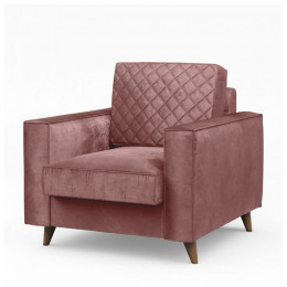 Kendall armchair vel duspink