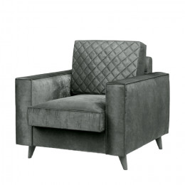 Kendall armchair velvet frosty green