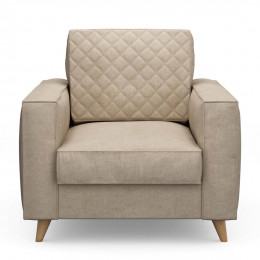 Kendall armchair cotton natural