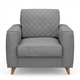 Kendall armchair cotton grey