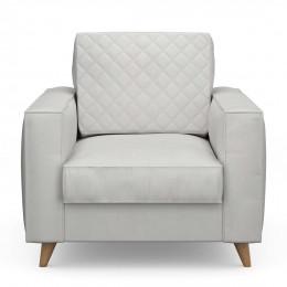 Kendall armchair cotton ashgrey