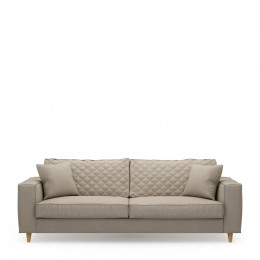 Kendall sofa 3 5 seater oxford weave anvers flax