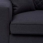 Kendall sofa 3 5 seater bsblack