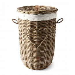 Rr heart laundry basket