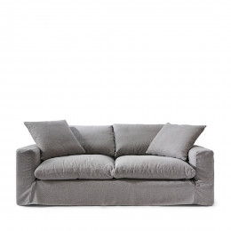 Residenza sofa 3 5 seater steelgr