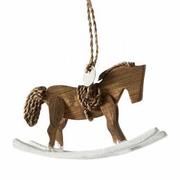 Rr rocking horse ornament
