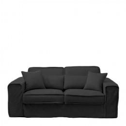 Metropolis sofa 2 5 seater bsblack