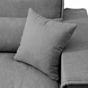 Metropolis sofa 2 5 seater oxford weave classic charcoal