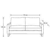 West houston sofa 2 5s alaswhi