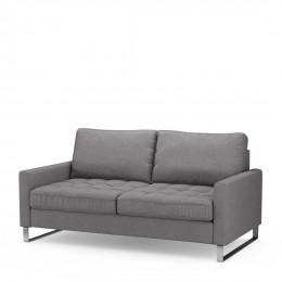 West houston sofa 2 5seater stgrey