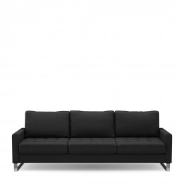 West houston sofa 3 5s bsblack