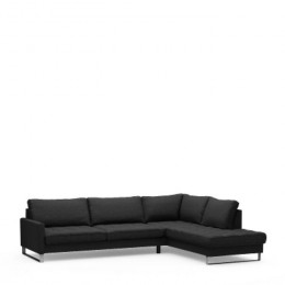 West h corner sofa right bsblack