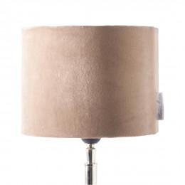 Velvet cylinder lampsh sand 15x20