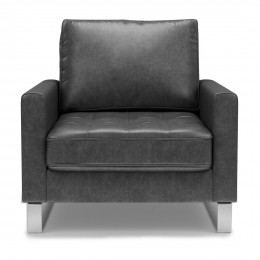 West houston armchair pellini grey