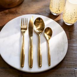 Classic rm cutlery soft gold 4 pcs