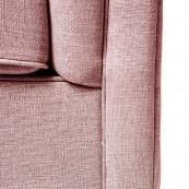 Radziwill sofa 2s linen prspink