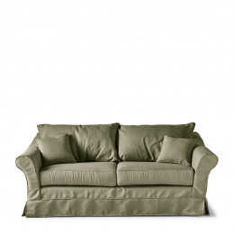 Bond street sofa 2 5 seater frgreen