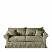 Bond street sofa 2 5 seater oxford weave forest green
