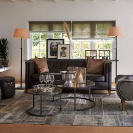 Radziwill sofa 3s pell espresso