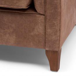 Radziwill sofa 2s pellini camel