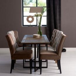 Shelter island folding dining table