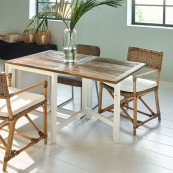 Wooster street dining table extendable