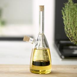 Traditional oil vinegar bottle