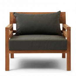 Cristo lounge armchair outdoor
