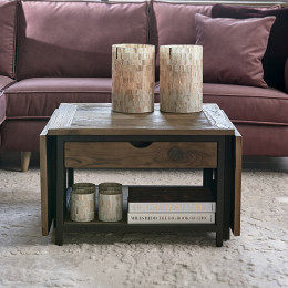 Shelter island folding coffee table