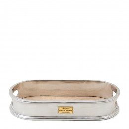 Vendome oval serving tray