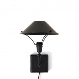 Sicily wall lamp black