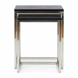 Nomad end table s 2 black