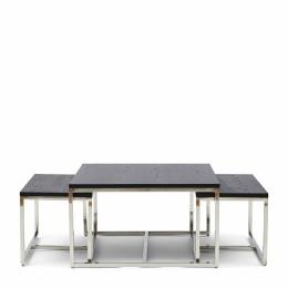 Nomad coffee table s 3 black