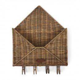 Rustic rattan you ve got mail