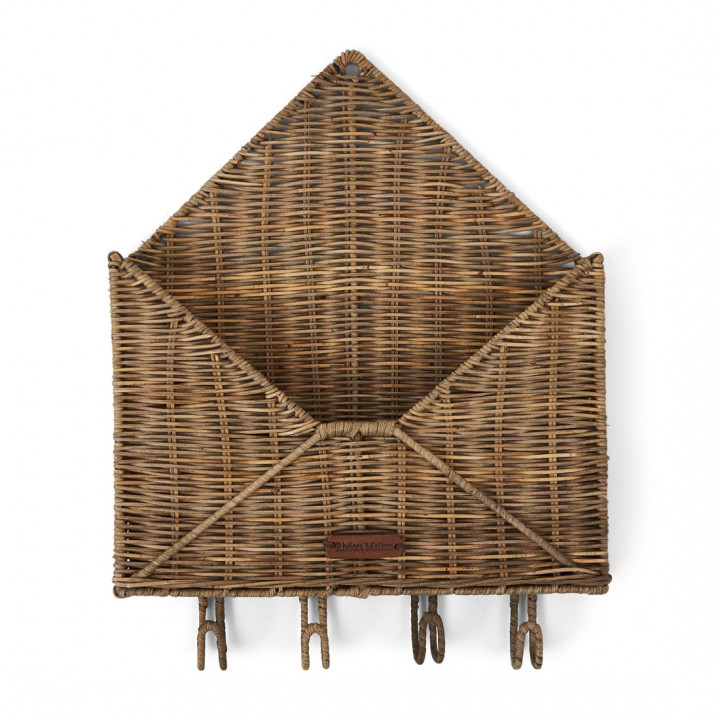 Rustic rattan you ve got mail
