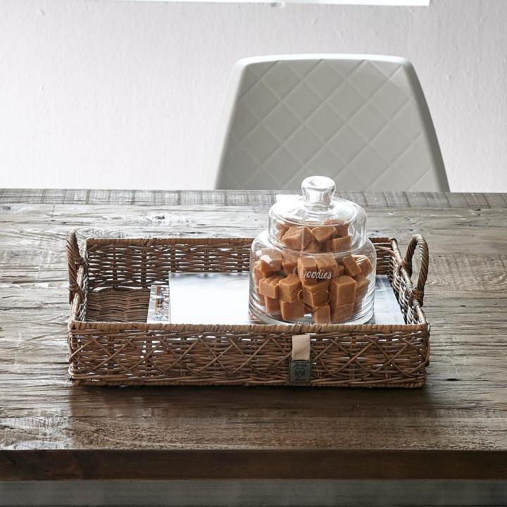 Rr diamond weave serving tray s 2