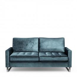 West houston sofa 2 5 seater velvet petrol