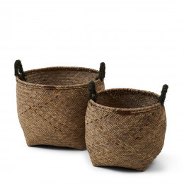 Go green basket set of 2 pieces