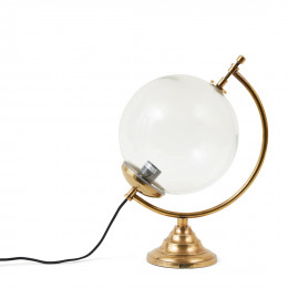 Globe lamp gold